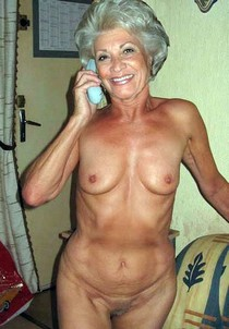 Perfect German lady naked