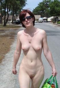Mature public nude.