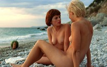 Avalon Barrie and Lyudmila Shiryaeva naked in Sappho
