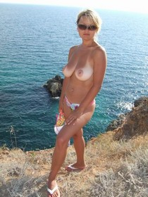 One more vacation amateur picture of my hottie posing naked