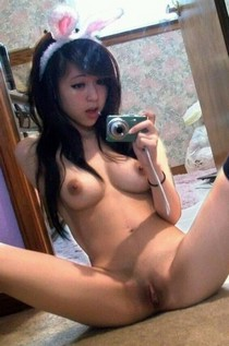 Asian amateur with tight pussy.