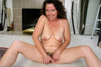 Candy takes off her white panties auntjudys