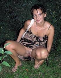 Hot Mature Mom Wears No Panties In Public