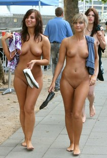 Don't mind us, we're just walking around completely naked lol.