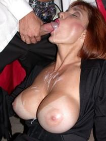 Amateur porn photos - awesome blowjob and facial