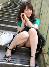 Beautiful young Chinese girlfriends, a photo from social networks