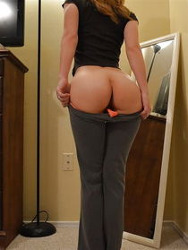 Girls in tight ass white pants - Other