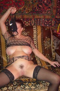 Cheerful middle-aged and mature women posing naked and teasing internet users with their..