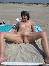 My nudist wife on the clariss beach