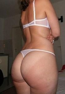 Amateur sexy milf big white ass