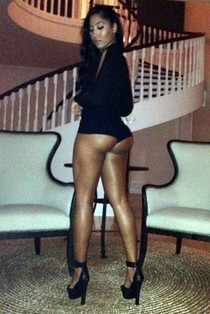 So handsome sexy provocative ebony has great amazing ass and body