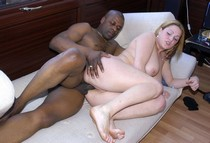Busty british wife gets shared with strong black man, cuckold husband films