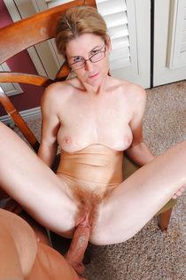 Big cock in senior pussy