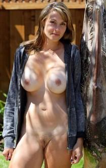 Busty Wife Nude In Public