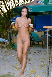 Young sweet and sexy blackhair nudist girl with beautiful real small boobs sexy tinny..