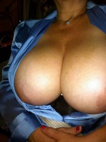 More of my wife's amazing tits!.