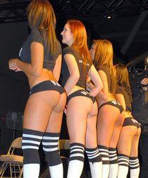 Hot asses.