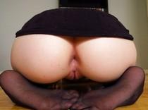 Black dress ass.