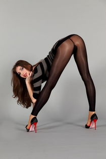 LEGS PANTYHOSE STOCKINGS BAREFOOT HIGH HEELS SHOES MIX 写 真 3
