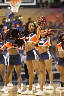Morgan State Cheerleaders Ready 1..2.