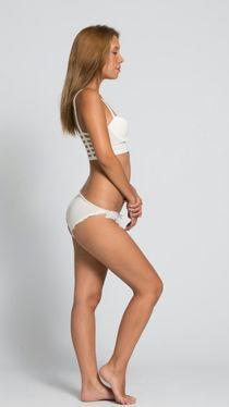 Polas casting model lingerie 44 french france upskirtporn