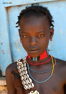 Africa+Teenage+Tribes+Girl ... girl - Padaung / Long-Necked