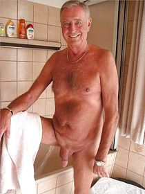 Naked nudist old men