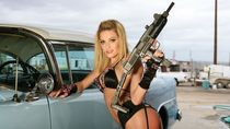 WOMEN & GUNS females-girls-sexy-weapons-guns-pistol-military
