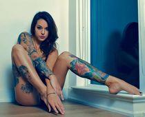 """""""Stephanie Marazzo Tattooed Night Owl Stephanie Marazzo is a"""