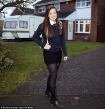 Meet 15-year-old Louisa Bull who is beating the boys and tak