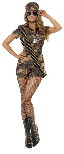 Sexy Army Girl Costume All Ladies Costumes Mega Fancy Dress
