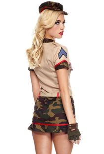 Womens army dress