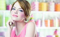 Картинка Emma Stone In Pink Dress на телефон Widescreen рабо