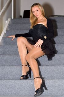 Amour du Nylon : Photo Legs Колготки, Модели, Юбка