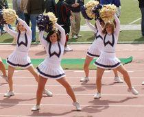 washington huskies cheerleaders in motion MIKE Flickr
