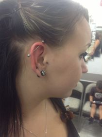 Industrial Piercing - Body Piercing Creations