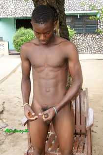 AFRIBOYZ - HANDSOME AFRICAN TWINK