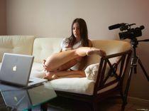 Онлайн эротика. (фото)