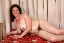PinkFineArt Janey Hairy British MILF from ATK Hairy