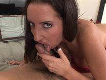 Hentai cum swallow: Sucking ebony, Deepthroat puke