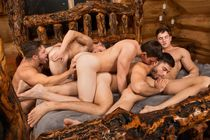 Gay Orgy - Gay Muscle Boy
