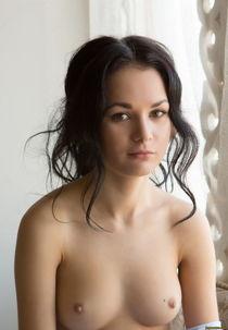 small boobs :: girl :: Brunette :: naked :: erotic (nude gir