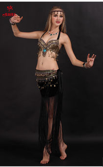 2019 2016 New Design Tribal Style Sexy Belly Dance Costume B