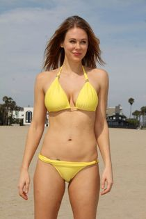 Maitland Ward Bikini Pics - Beach in Marina Del Rey - July 2