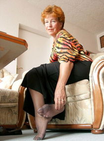 Granny Nylon Feet - Pics - xHamster