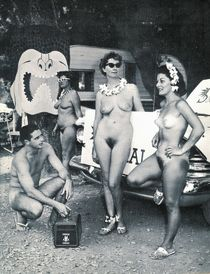 Twisted Vintage: Nudist Colony Luau