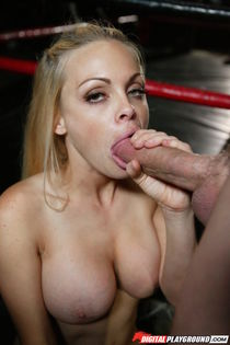 Blonde knockout gets brutally banged by her big-dicked boxin