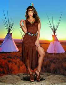 Womens Indian Tribe Costume - Trail by Dreamgirl