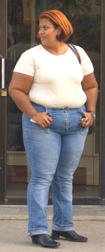Bbw in tight jeans - Adult archive
