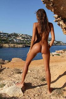 Голые девушки сзади. Naked-Woman